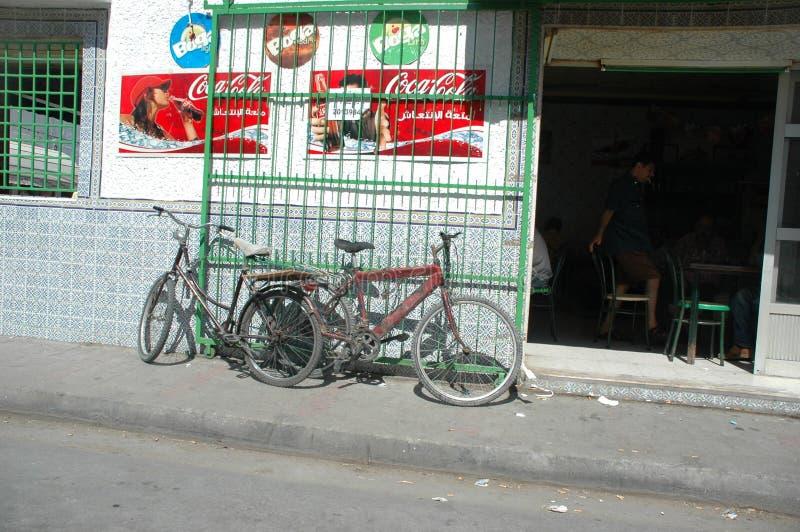 straat van Tunis royalty-vrije stock fotografie