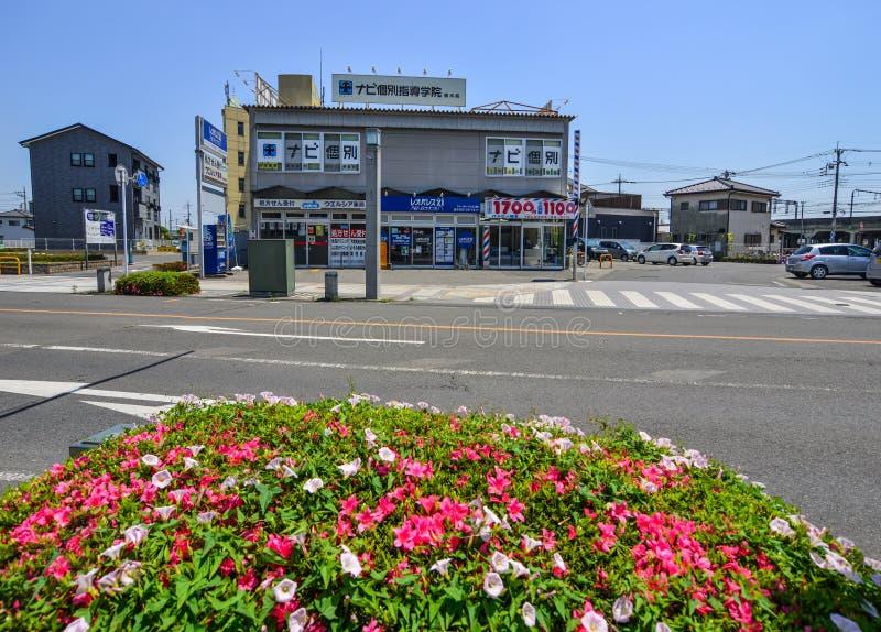 Straat van Utsunomiya, Japan royalty-vrije stock afbeelding