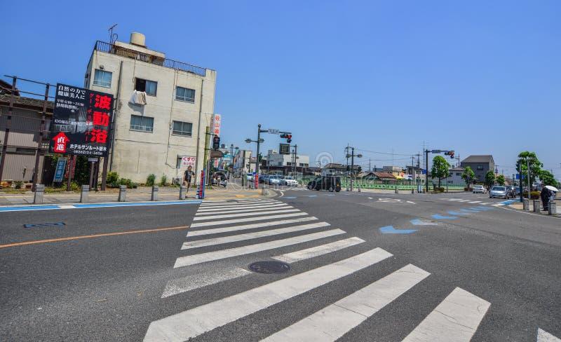 Straat van Utsunomiya, Japan royalty-vrije stock foto