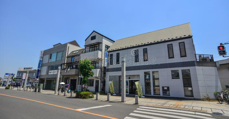 Straat van Utsunomiya, Japan stock fotografie
