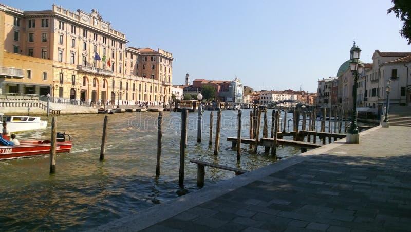 Straat van Venetië, Italië stock afbeelding