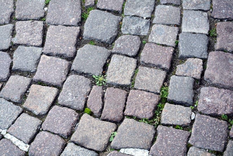 Straatachtergrond in Castelfranco Veneto, in Italië royalty-vrije stock fotografie