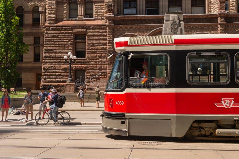 Straatauto in Toronto Van de binnenstad 2019 royalty-vrije stock fotografie