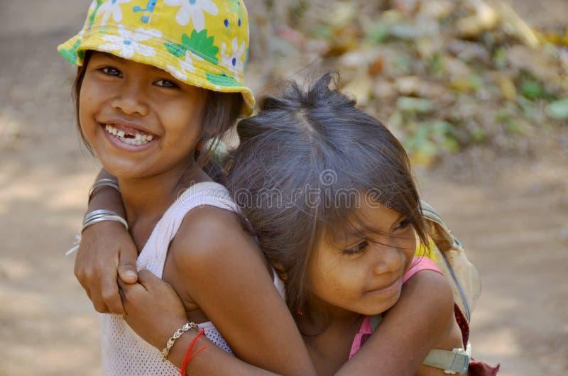 straatkind stock fotografie