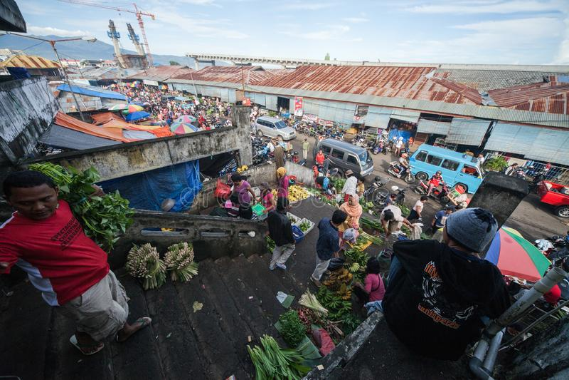 Straatmarkt royalty-vrije stock foto