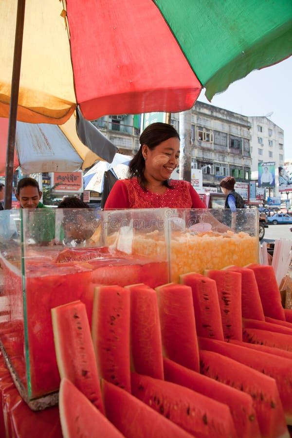 Straatmarkt royalty-vrije stock fotografie