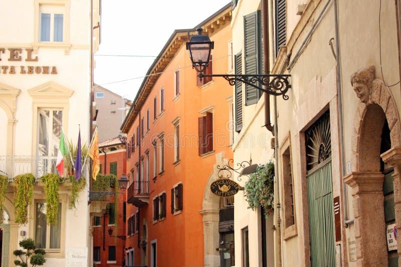 Straatmening in Verona Italië stock fotografie