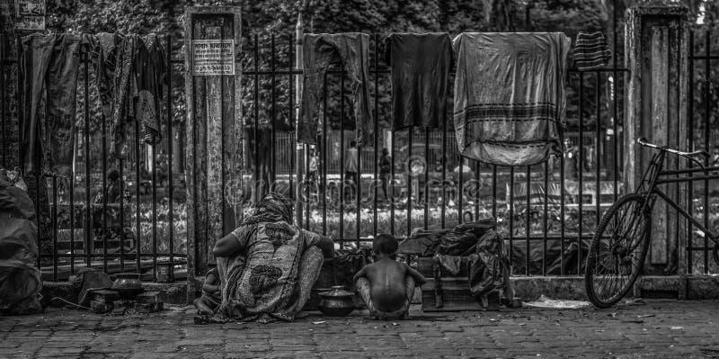 Straatmensen royalty-vrije stock afbeeldingen