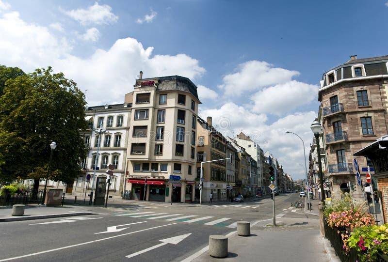 Straatsburg stock afbeelding