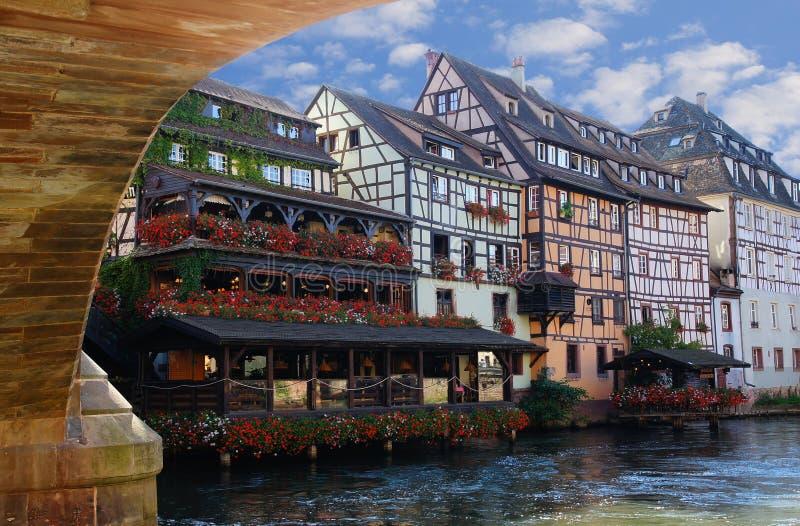 Straatsburg royalty-vrije stock foto