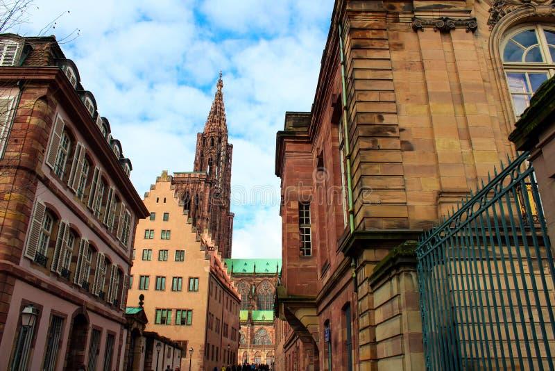 Straatsburg, Frankrijk royalty-vrije stock foto's