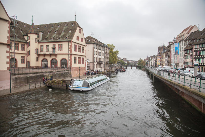 Straatsburg, Frankrijk stock foto