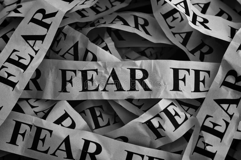 strach zdjęcie stock