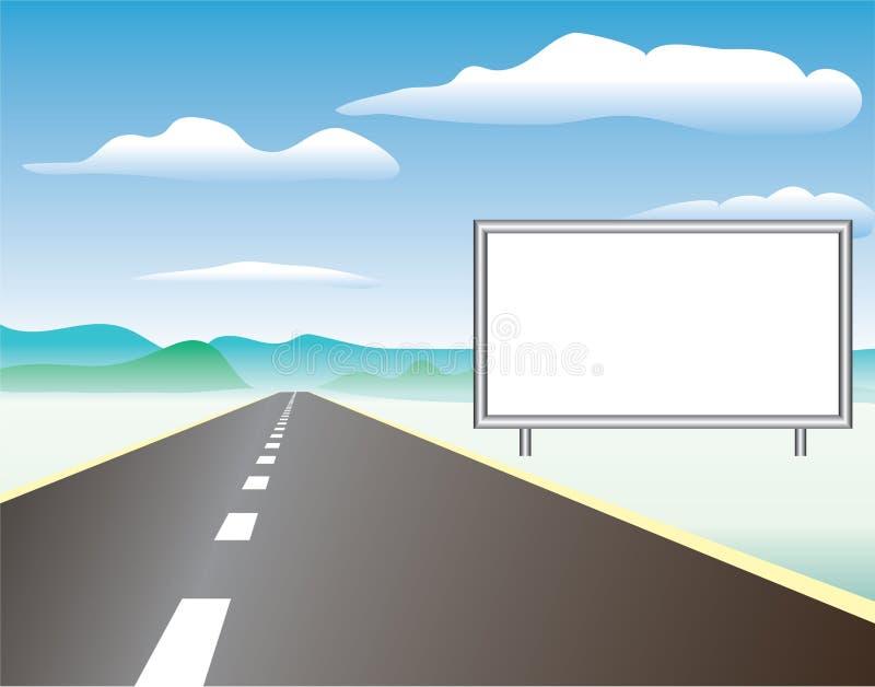 Strada illustrazione di stock