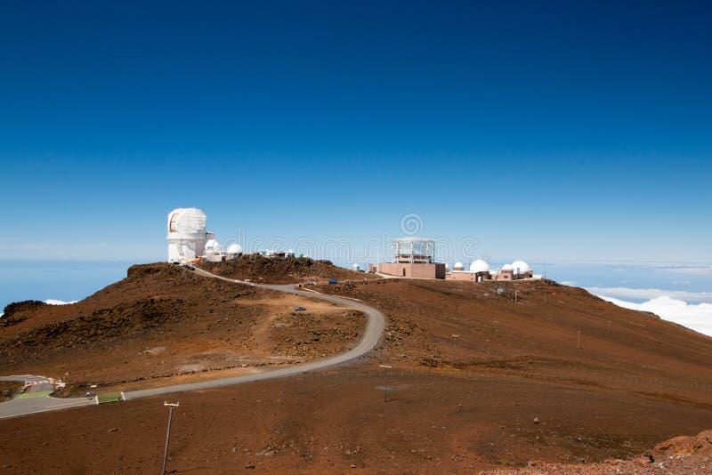 Strada all'osservatorio fotografie stock libere da diritti