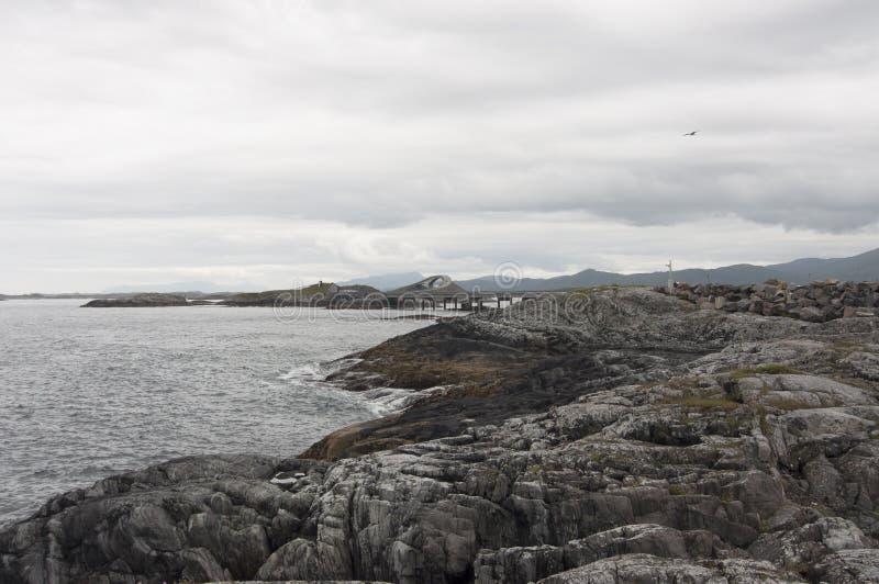 Strada atlantica fotografie stock libere da diritti