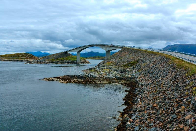 strada atlantica della Norvegia fotografia stock libera da diritti