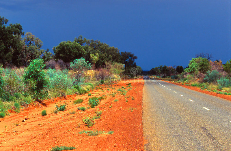 Strada australiana immagini stock