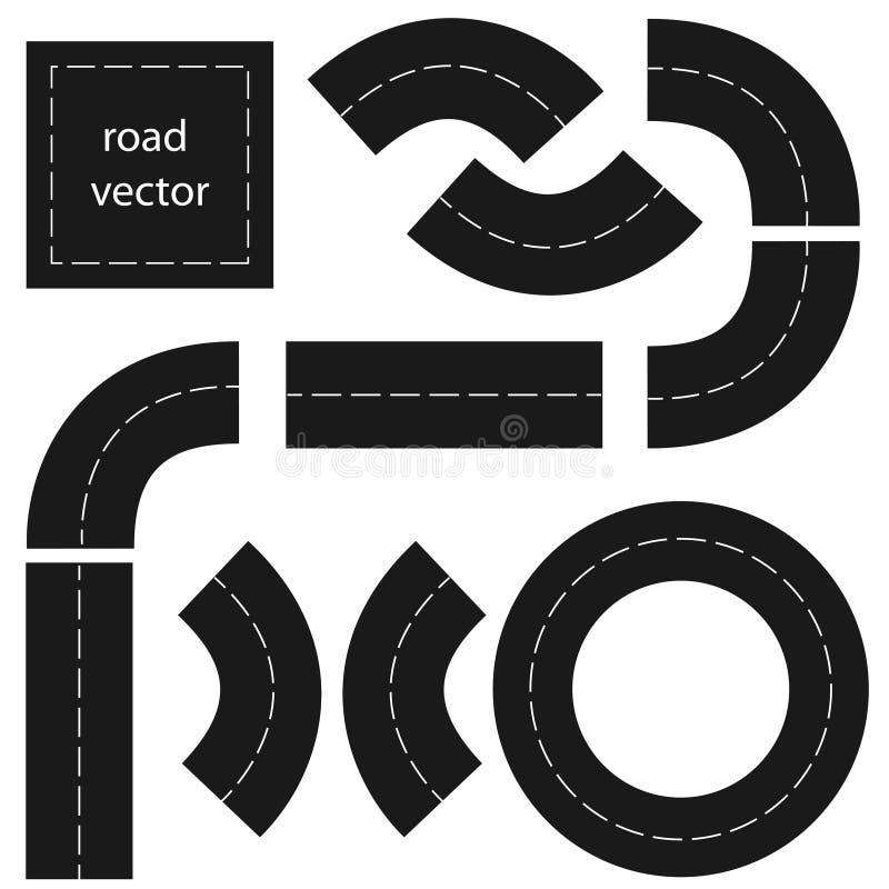 Strada illustrazione vettoriale