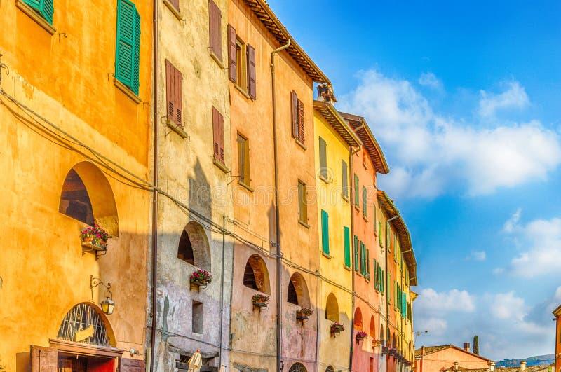 Strada degli asini in Brisighella, Italia immagine stock libera da diritti
