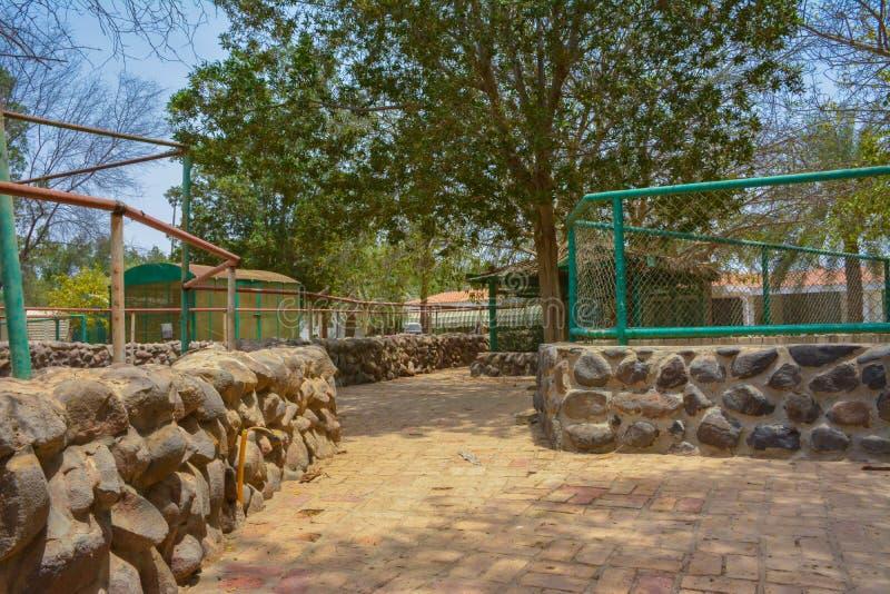 Strada del villaggio in Jedda immagine stock libera da diritti