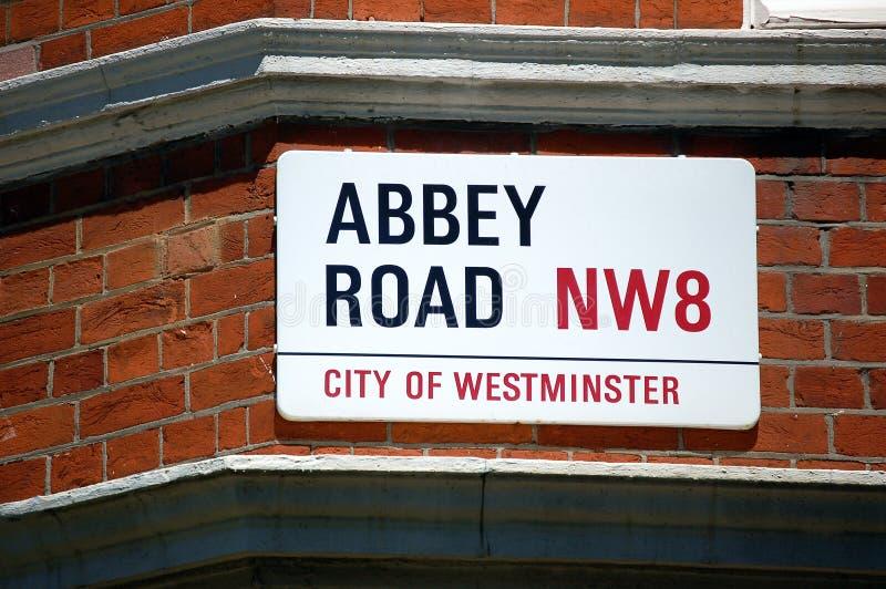 Strada dell'abbazia immagini stock