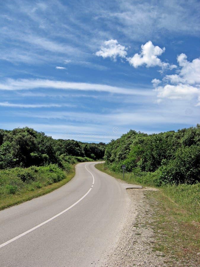 Strada dell'automobile immagine stock libera da diritti