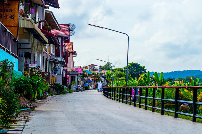 Strada di chiengkhan fotografia stock libera da diritti