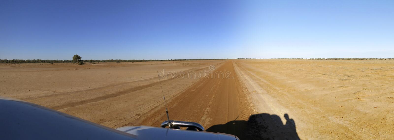 Strada di entroterra, Australia fotografia stock