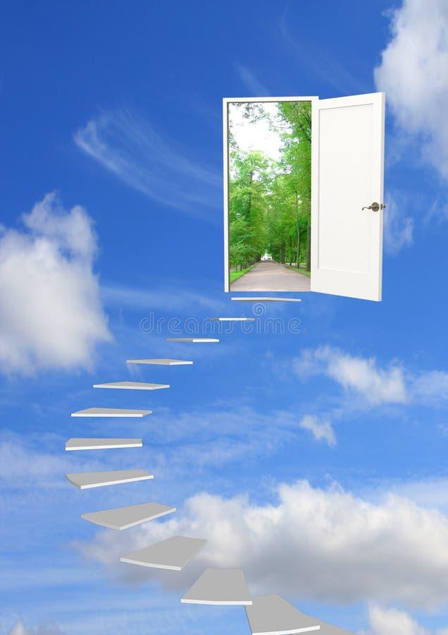strada di sogno a fotografia stock libera da diritti