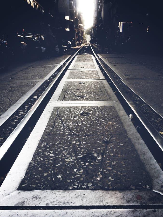 Strada ferrata fotografia stock libera da diritti
