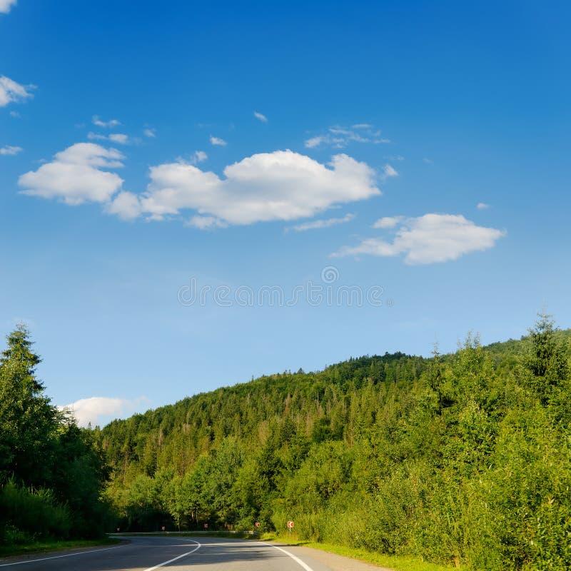 Strada in montagna immagine stock libera da diritti