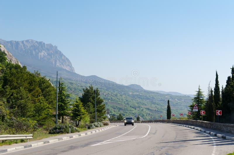 Strada in montagna fotografia stock libera da diritti