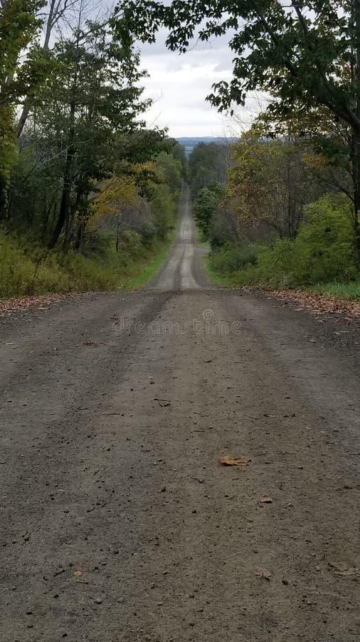 Strada non asfaltata immagini stock