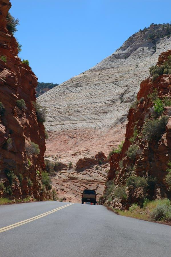 Strada principale 9 dell'Utah immagini stock
