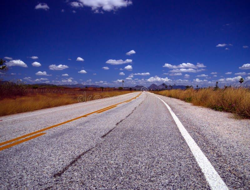 Strada principale del Brasile immagini stock libere da diritti