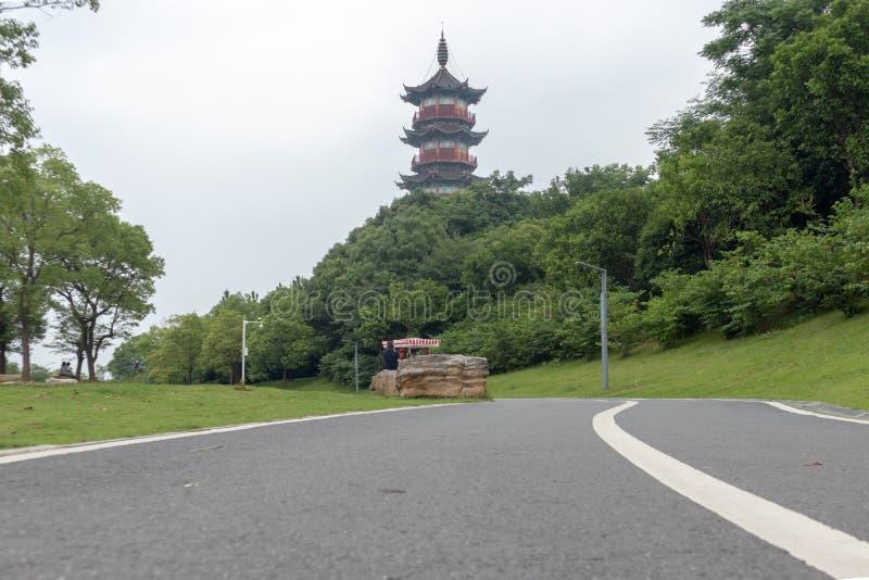 Strada principale del strada-giardino immagine stock libera da diritti