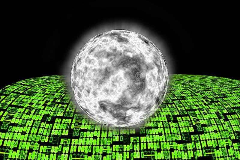 Strada principale eccellente di informazioni di Internet al mondo. illustrazione di stock