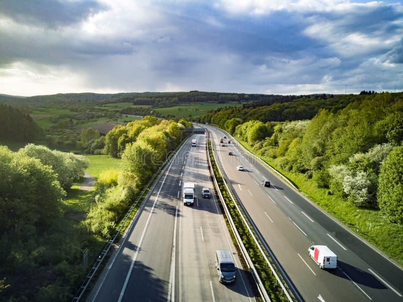 Strada principale in Germania immagine stock libera da diritti