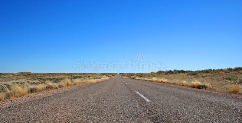 Strada senza fine fotografia stock