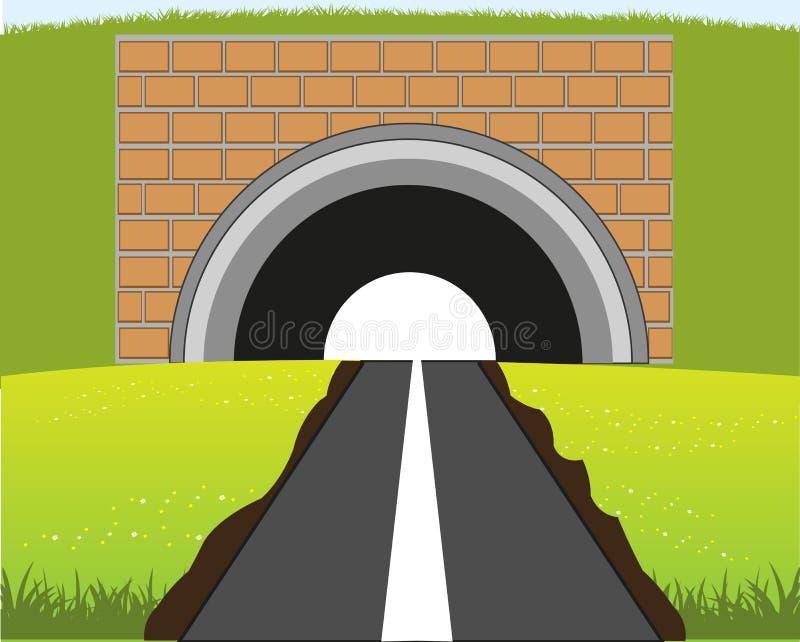 Strada in sottopassaggio illustrazione vettoriale