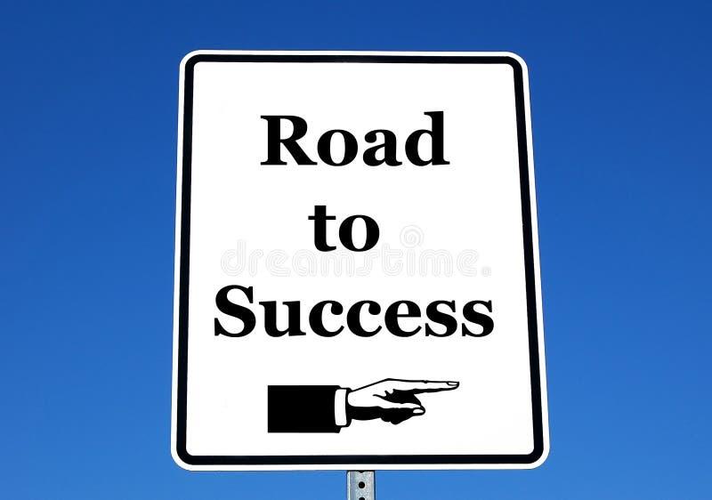 Strada a successo immagine stock libera da diritti