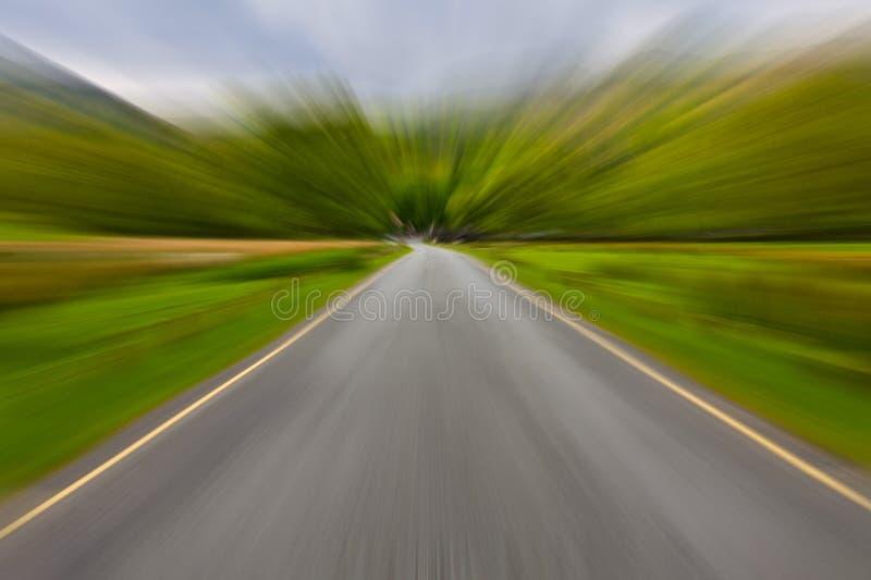 Strada vaga fotografie stock libere da diritti