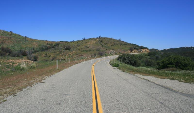Strada verso sud principale di disaccordo immagini stock