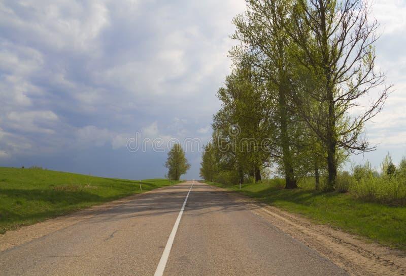 Strade rurali fotografie stock libere da diritti