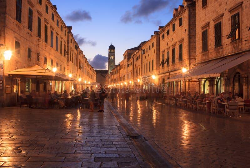 Stradun, Dubrovnik fotos de archivo