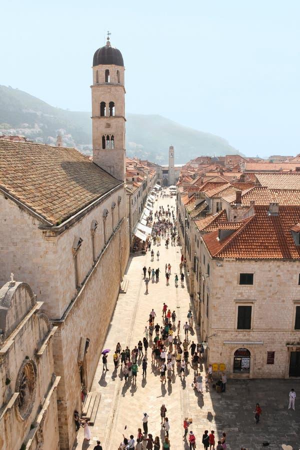 stradun dubrovnik Croácia foto de stock royalty free