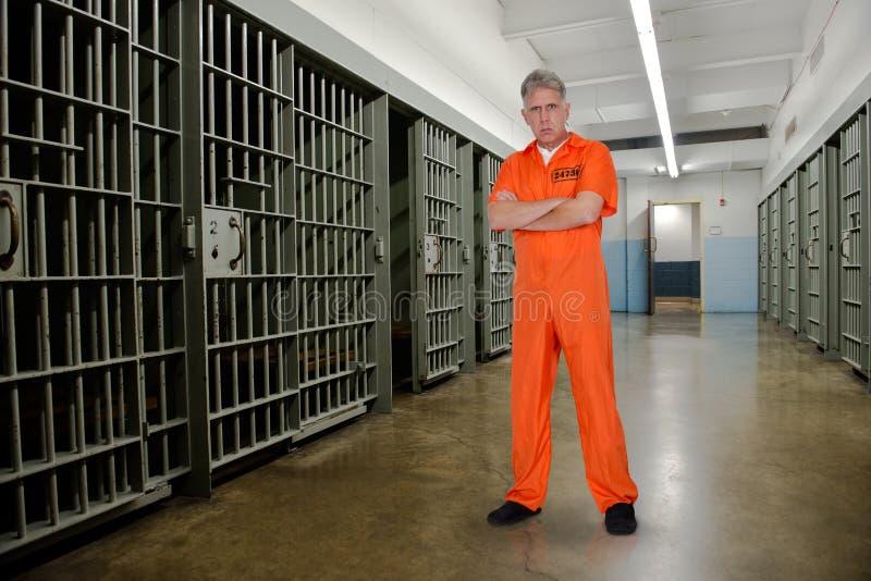 Strafgefangene, Gefangener, Verbrecher, Gewohnheitsverbrecher, Gefängnis lizenzfreie stockbilder