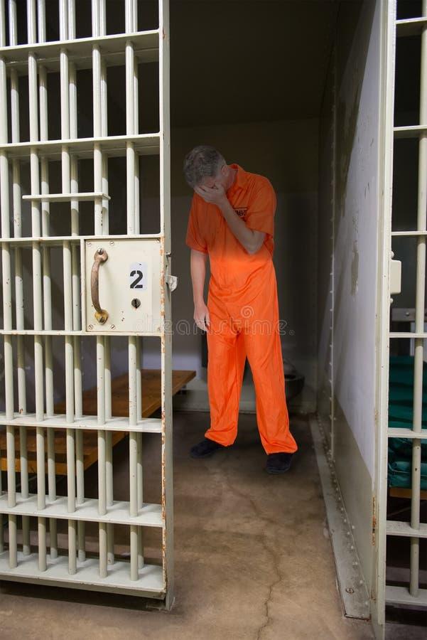 Strafgefangene, Gefangener, Verbrecher, Gewohnheitsverbrecher, Gefängnis lizenzfreie stockfotos