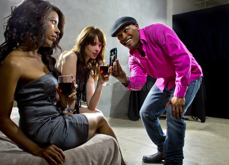 Strafottenza al night-club fotografia stock libera da diritti